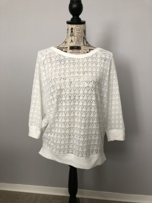 Opus Mesh Shirt natural white