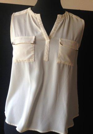 Camisa de mujer crema