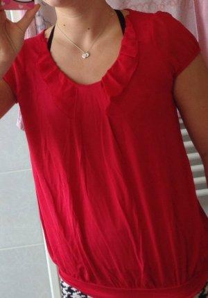 Shirt von Orsay, rot, Größe 36