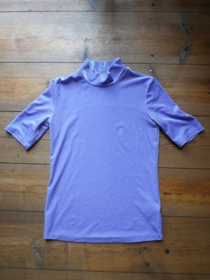 & other stories Turtleneck Shirt purple polyester