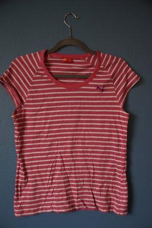 *Shirt von Puma rosa gestreiftes**