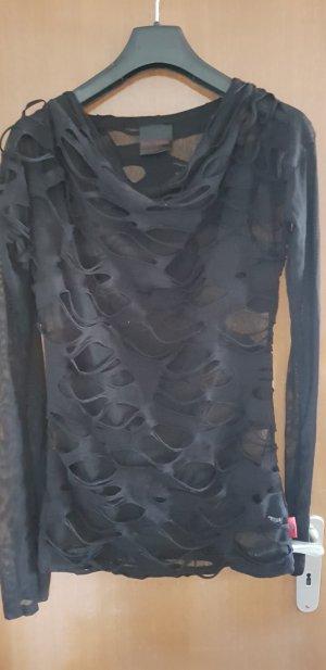 Queen of Darkness Mesh Shirt black