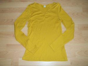 Shirt von s. Oliver in Gr. 34 gelb dunkelgelb curry senfgelb