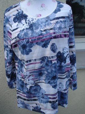 Shirt von Serena Malin Gr. 44 ***neu*** Flower power