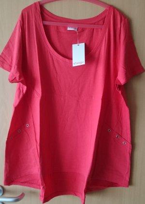 Shirt von Sheego Rot