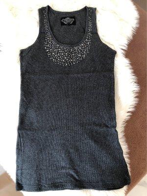 Soccx Geribd shirt grijs