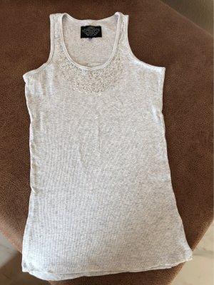 Soccx Geribd shirt lichtgrijs