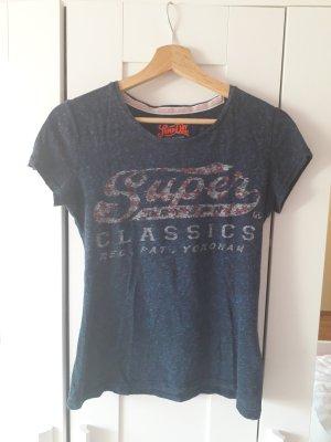 Shirt von Superdry Größe XS blau
