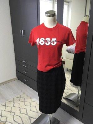 Burberry Print Shirt red