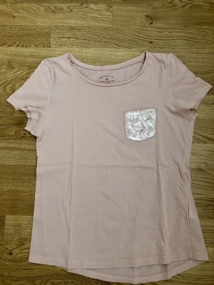 Tom Tailor T-shirt stoffig roze-rosé