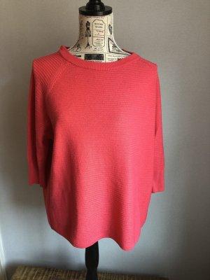 Jacqueline de Yong Camisa tejida rojo frambuesa