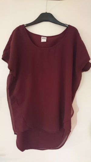 Shirt von Vero Moda in bordeaux