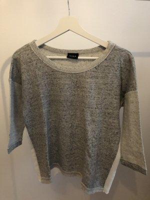 Vila Camicia maglia grigio-grigio chiaro