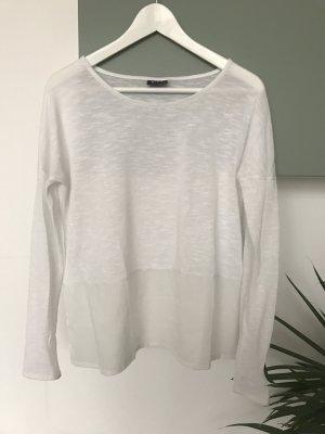 Shirt von VILA weiß/durchsichtig