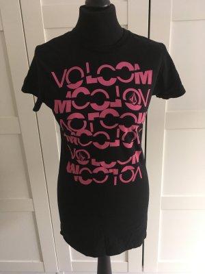 Shirt von Volcom, schwarz pink