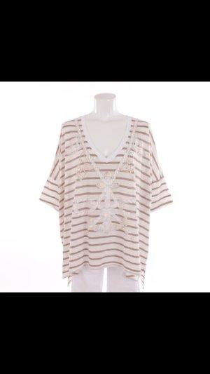 Shirt von Wildfox in Weiß und Braun Gr. M