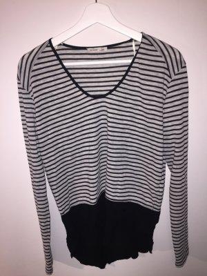 Zara Pull noir-gris