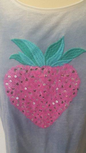 Shirt von Zwillingsherz mit Erdbeere