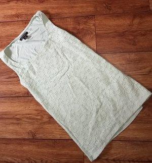 Shirt vorn Spitze mint Gr. XS von Amisu