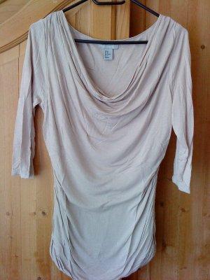 Shirt * Wasserfall-Ausschnitt * Gr. M * TOP