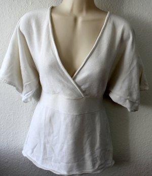 Y.O.U. V-hals shirt wit Katoen