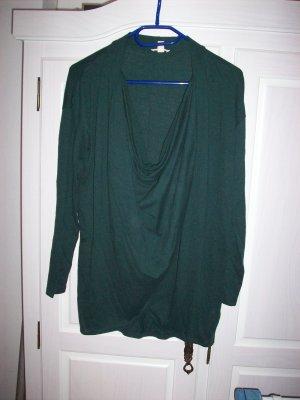 Shirt Wickeloptik von Esprit Gr.36 Farbe grün