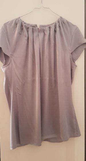 Yorn Cropped shirt zilver-lichtgrijs