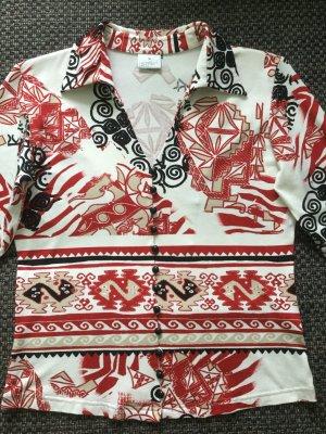 Colletto camicia multicolore Viscosa