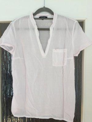 Shirtbluse in hellrose in Größe 36