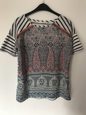 Oui Oversized Shirt multicolored