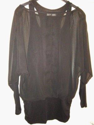 Shirtbluse transparent