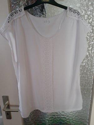 1.2.3 Paris Shirt white