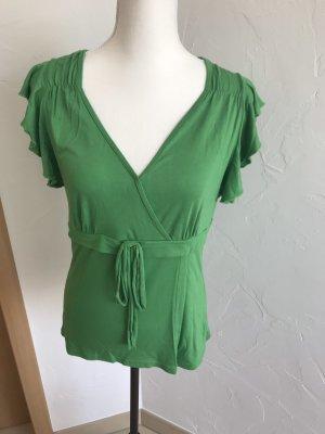 Shirtbluse wickeloptik