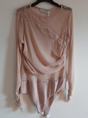 Rinascimento Shirtbody stoffig roze
