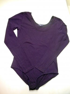 Shirt Body brown violet-dark violet cotton