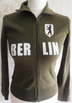 Shirtjacke Berlin in Khaki, Größe XS