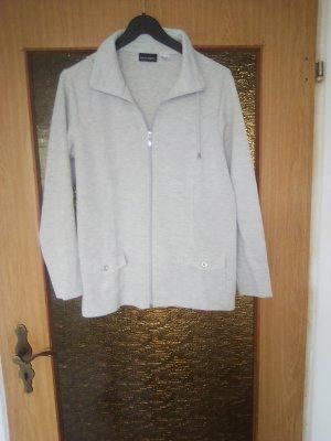 Giacca-camicia grigio chiaro