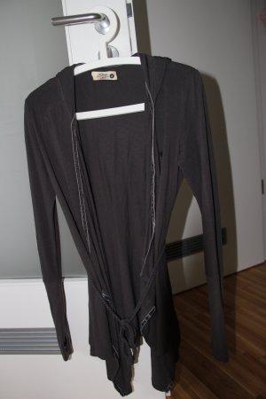 Veste chemise gris anthracite coton