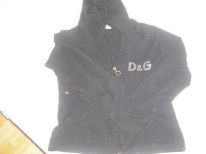 Shirtjacke mit Reißverschluss von D&G