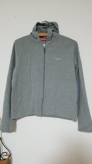 Shirtjacke Sweatjacke grau Mangoon Größe M 40/42