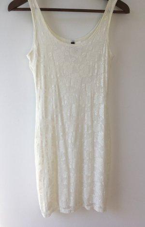H&M Falda estilo lápiz blanco puro