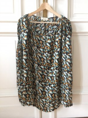 Robe t-shirt multicolore coton