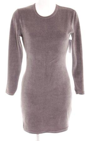 T-shirt jurk grijs casual uitstraling