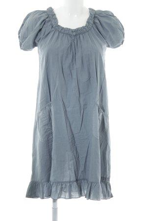 Robe t-shirt gris ardoise style décontracté