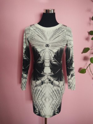 Shirtkleid in schwarz/weiß (Box 4)