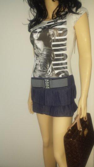 Shirtkleid Jeanskleid Minikleid  38 Blogger-Style