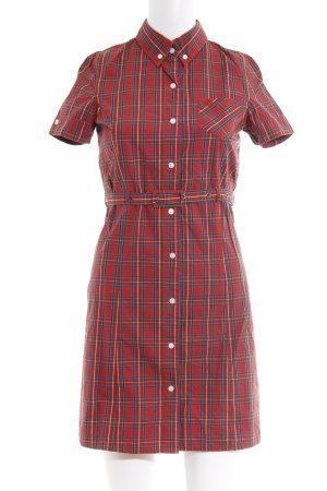 Shirt Dress check pattern casual look