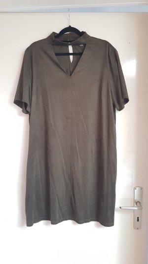 Primark Leather Dress khaki