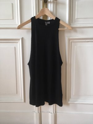 H&M Divided Top lungo nero Poliestere