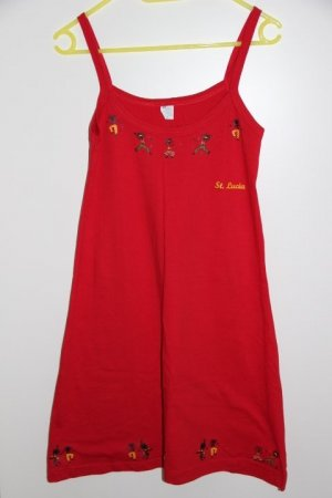 Shirtkleid Made in St. Lucia (Karibik)